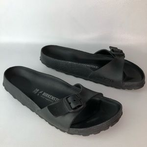 Birkenstock Madrid Black Sandal Size 7